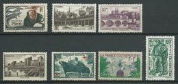FRANCE 1941 .N° 496 Et N°s 499 à 504 . Neufs ** (MNH) - France