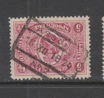 COB 131 Oblitéré ASSCHE N°2 - 1915-1921