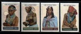 TRANSKEI, 1987,  MNH Stamp(s), Beadwork,  Nr(s) 202-205 - Transkei