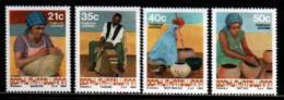 BOPHUTHATSWANA, 1990, MNH Stamp(s), Traditions, Nr(s)  248-251 - Bophuthatswana