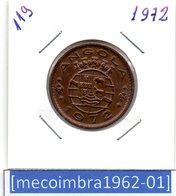 [*119*] - Ex/Colonia Angola Portuguesa 1 Escudo 1972 Angola Portuguesa - Colonia - Angola