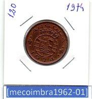 [*120*] - Ex/Colonia Angola Portuguesa 1 Escudo 1974 Angola Portuguesa - Colonia - Angola