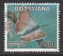 Botswana 2007 Butterflies 50 T Multicoloured SW 862 O Used - Botswana (1966-...)