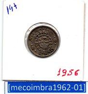 [*147*] - Ex/Colonia Angola Portuguesa 2,50 Escudos 1956 Angola Portuguesa - Colonia - Angola