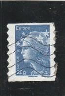 FRANCE 2011 -ADHESIF MARIANNE DE BEAUJARD OBLITERE  592      - - France