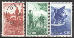 Norwegen 899/901 O - Norwegen