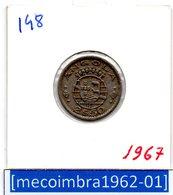 [*148*] - Ex/Colonia Angola Portuguesa 2,50 Escudos 1967 Angola Portuguesa - Colonia - Angola