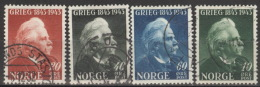 Norwegen 287/90 O - Gebraucht