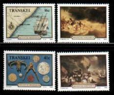 TRANSKEI, 1988,  MNH Stamp(s), Grosvenor Shipwreck,  Nr(s) 222-225 - Transkei