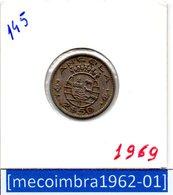 [*145*] - Ex/Colonia Angola Portuguesa 2,50 Escudos 1969 Angola Portuguesa - Colonia - Angola