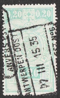 Belgium - Scott #Q142 Used - Parcel Post & Railway Stamps - Chemins De Fer