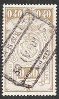 Belgium - Scott #Q144 Used - Parcel Post & Railway Stamps - Railway