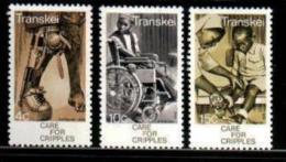 TRANSKEI, 1978, MNH Stamp(s), Care For Cripples,  Nr(s) 45-47 - Transkei