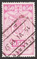 Belgium - Scott #Q145 Used - Parcel Post & Railway Stamps - Railway