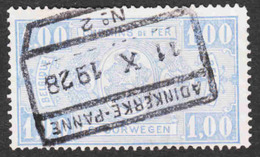 Belgium - Scott #Q150 Used - Parcel Post & Railway Stamps - Railway