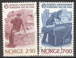 Norwegen 944/45 O - Norwegen