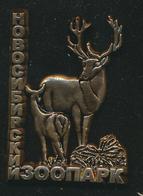 Pin ZOO Novosibirsk, Russia - Deer - Badges