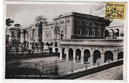Vaticano 1933 - Timbre Surchargé C 25 Sur Carte Pinacoteca - Lettres & Documents