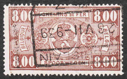 Belgium - Scott #Q166 Used - Parcel Post & Railway Stamps - Railway