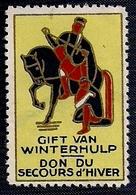 BELGIE - VIGNETTE - GIFT VAN WINTERHULP (Don Du Secours D'Hiver) - Vignettes D'affranchissement