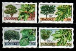TRANSKEI, 1989,  MNH Stamp(s), Indigenous Trees, Nr(s)  242-245 - Transkei