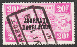 Belgium - Scott #Q169 Used - Parcel Post & Railway Stamps - Chemins De Fer