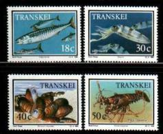 TRANSKEI, 1989,  MNH Stamp(s), Food From The Sea  Nr(s)  238-241 - Transkei