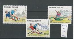 180030673  NIGER  YVERT  AEREO  Nº  362/5  **/MNH - Níger (1960-...)