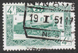 Belgium - Scott #Q314 Used - Parcel Post & Railway Stamps - Railway