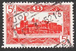 Belgium - Scott #Q315 Used - Parcel Post & Railway Stamps - Chemins De Fer