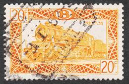 Belgium - Scott #Q321 Used - Parcel Post & Railway Stamps - Chemins De Fer