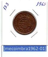 [*133*] - Ex/Colonia Moçambique Portugues 1 Escudo 1965 - Colonia - Mozambique
