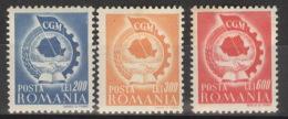 Rumänien 1037/39 ** Postfrisch - Ungebraucht