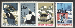 Rumänien 2883/86 ** Postfrisch - 1948-.... Republiken