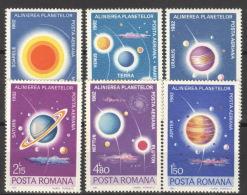 Rumänien 3795/3800 ** Postfrisch - Ungebraucht