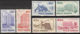 Rumänien 4746/51X ** Postfrisch - 1948-.... Republiken
