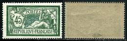 France N° 143 Neuf ** Signé Calves - TB Qualité - 1900-27 Merson