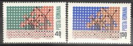 Rumänien 2833/34 ** Postfrisch - 1948-.... Republiken