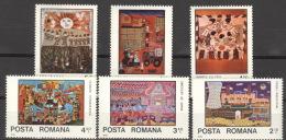Rumänien 3573/78 ** Postfrisch - Ungebraucht