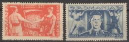 Rumänien 898/99 ** Postfrisch - Ungebraucht