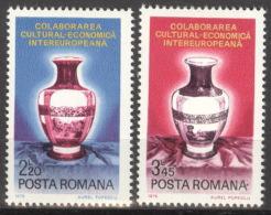 Rumänien 3340/41 ** Postfrisch - Ungebraucht