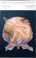 Calendrier Peinture Femme Nue Par Anna Lou - Big : 1981-90