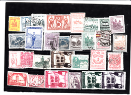 Lotto Francobolli Guerra Nazionale Di Spagna, Usati E Non . 29 Stamps Varie - Nationalist Issues
