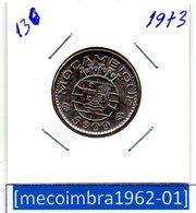 [*136*] - Ex/Colonia Moçambique Portugues 5 Escudos 1973 - Colonia - Mozambique