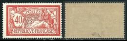 France N° 119 Neuf ** Signé Calves - 1er Choix Cote 65 Euros - 1900-27 Merson