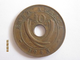 British East Africa: 10 Cents 1943 - British Colony