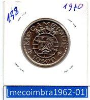 [*138*] - Ex/Colonia Moçambique Portugues 10 Escudos 1970 - Colonia - Mozambique
