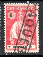 Macau 1913 Issue Great PAQUEBOT Cancel Very Fine Used (zk-321aj) - Macao