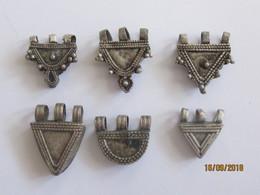 Ethiopie: 6 Pendentifs Telsum Pour Colliers De Mariage/ Vente à La Pièce - Ethnics