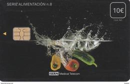 ISN-269 TARJETA DE ESPAÑA DE ISERN DE LA SERIE ALIMENTACION Nº8 - Alimentación